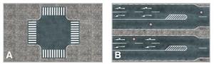Heki 12001 Citiline - Ulica - skrzyżowanie i odcinek prosty