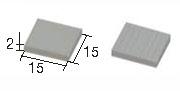 Aedes Ars 2203B Dachówka biała 1:20 150 szt.