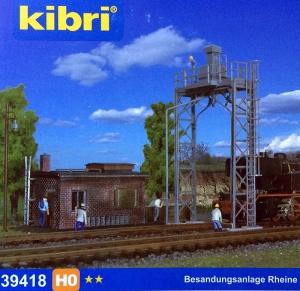 Kibri 39418 Stanowisko napiaszczania parowozów