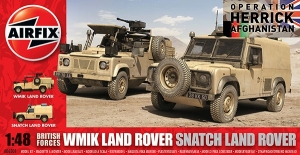 Airfix A06301 British Forces Land Rover Twin Set 1:48