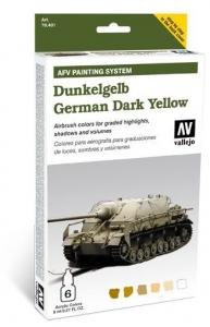 Vallejo 78401 AFV Painting System: German Dark Yellow