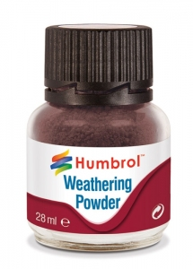 Humbrol AV0007 Pigment Weathering Powder 28 ml - Dark Earth AV0007