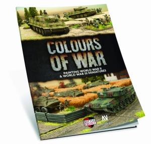 Vallejo 75013 Książka Colours of War - Painting WWII & WWIII miniatures