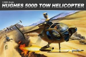 Academy 12250 Hughes 500D TOW 1:48