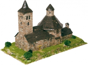 Aedes Ars 1103 Kościół de Vilac 1:100