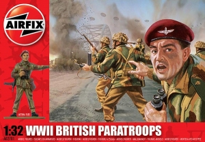 Airfix A02701 WWII British Paratroops 1:32