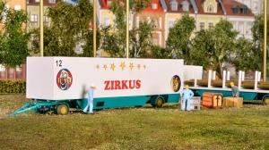 Kibri 14658 Przyczepy ciężarowe - 2 szt.