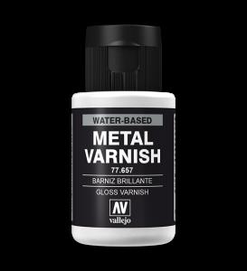 Vallejo 77657 Metal Color 77657 Gloss Metal Varnish