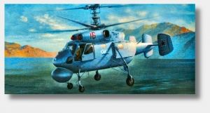 SK Model 3700 Helikopter KA-25A/C Kamov Hormone 1:72