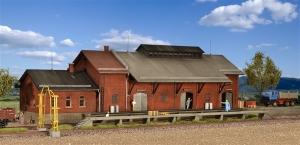Kibri 39462 Magazyn kolejowy z rampą załadunkową
