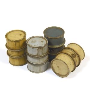 Vallejo SC201 Diorama Accessories Niemieckie beczki na paliwo #1 1:35