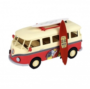 Artesania Latina 30522 Junior Collection - Volkswagen Bus z deską surfingową