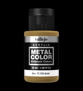 Vallejo 77725 Metal Color 77725 Gold