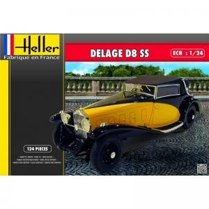 Heller 80720 Delage D8 SS - 1:24