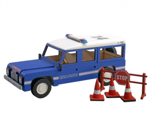 Artesania Latina 30520 Junior Collection - Land Rover policyjny